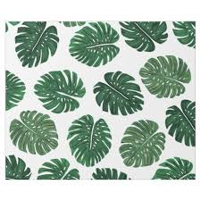 tropical wrapping paper tropical painted swiss cheese plant leaves wrapping paper