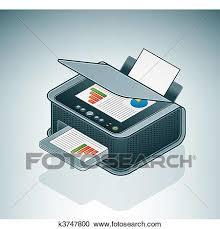 imprimante bureau clipart petit bureau maison imprimante jet encre k3747800