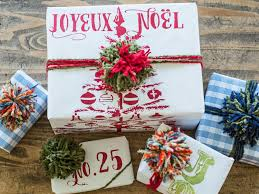 gift wrap christmas 50 christmas gift wrapping ideas hgtv