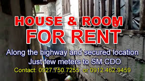 forrent house u0026 rooms for rent in cagayan de oro city near sm cdo youtube