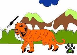 coloring books kids fast tiger http veu sk index php