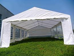 Patio Tent Gazebo American Canopy Tent 16x26 Foot Large White Tent