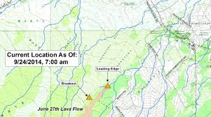 Hawaii Lava Flow Map Uptick And Signs Of Activity 2012 The Awakening Page 2