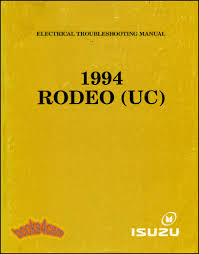 isuzu rodeo manuals at books4cars com