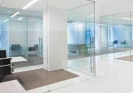dorma glass doors pure interior demountable glass partitioning system bravura