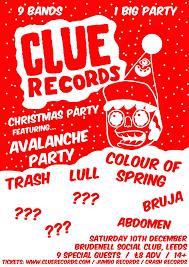 clue records christmas party gig at leeds brudenell social club