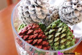 diy friday pine cone centerpiece