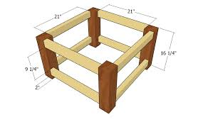 free coffee table plans free coffee table plans howtospecialist how to build step by