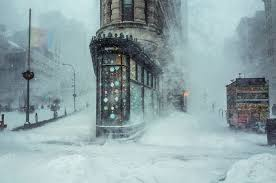 this photograph of the nyc winter looks like an