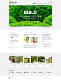 Garden Layout Template by Premium Garden Design Wordpress Themes Templatemonster