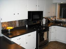 Best Tin Backsplash Images On Pinterest White Kitchens Tin - Backsplash with white cabinets