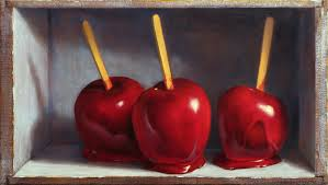 candy apples boxes mickilowski candy apple paintings