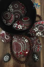 195 best painted rocks home decor images on pinterest painted