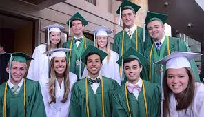 green cap and gown news post