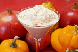 pumpkin pie martini dishin with di cooking show recipes