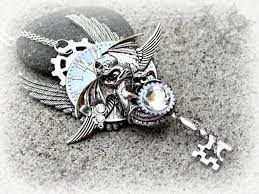 dragon key necklace images Midnight whisperer steampunk dragon key necklace ksvhs jewellery jpg