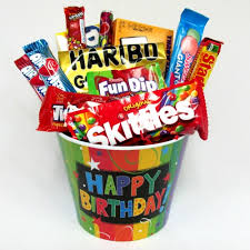 candy gift baskets celebrate the day candy gift basket