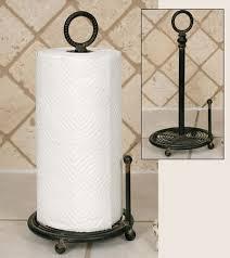 provincial paper towel holder black