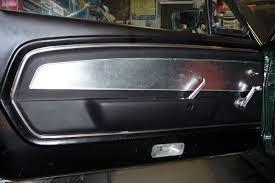 mustang door panel 67 deluxe door panel in a 65 vintage mustang forums