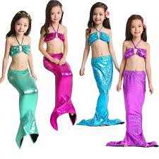 mermaid costume hot child mermaid bathing suit ariel the mermaid