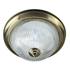 Searchlight Ceiling Lights Searchlight American New York Diner Range Antique Brass And Clear