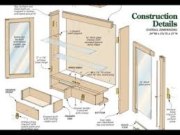 Cabinet Door Plans Woodworking Cabinet Plans How To Build A Cabinet With Plans Blueprints