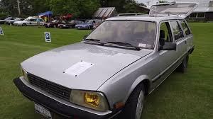 peugeot 504 wagon 1986 peugeot 505 wagon youtube