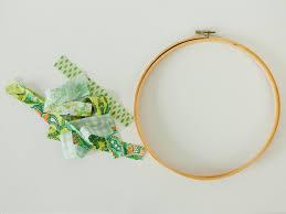 kids u0027 craft make an easy rag wreath hgtv