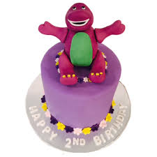 barney birthday cake characters cakes brookies cookies nyc