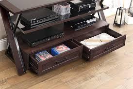 Tv Stands Furniture Amazon Com Whalen Furniture Xldec54 Nv 3 In 1 Flat Panel