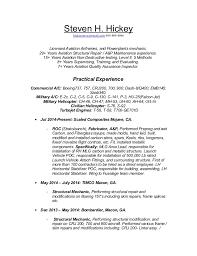 uh 60 mechanic sample resume helicopter repair sample resume