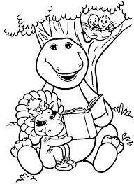 barney laugh printable coloring pages coloring pages barney 18752