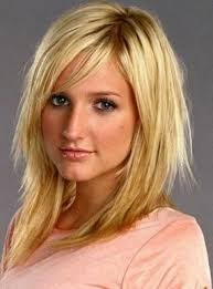 images front and back choppy med lengh hairstyles cool hairstyle 2014 choppy layers with side swept bangs for medium hair