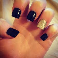 black and gold nails my style pinterest gold nail gold and