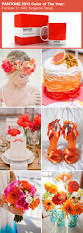 the best wedding color ideas in recent years inspired by pantone