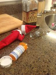 dirty thanksgiving naughty elf on the shelf beerbecue