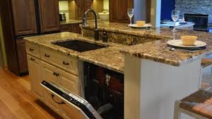kitchen island with dishwasher various kitchen island with sink and dishwasher design of
