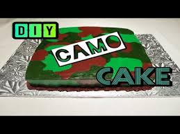 camoflauge cake how to make a easy buttercream army camouflage