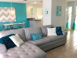 florida home beach house leather couch homemadert tannd nice blue