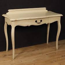 bureau style ancien bureau console en bois design scandinave malko blanc eur 341 63