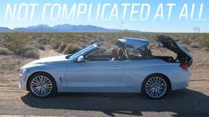 bmw 3 series convertible roof problems the 2014 bmw 4 series convertible is great but i m not sure i am