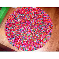 Nepal Felt Ball Rug Felt Balls Rug Felt Rugs From Nepal Wholesale Felt Balls Mat