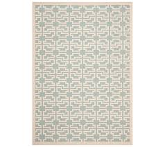 Qvc Outdoor Rugs Safavieh 8 U0027 X 11 U0027 Abstract Indoor Outdoor Rug U2014 Qvc Com