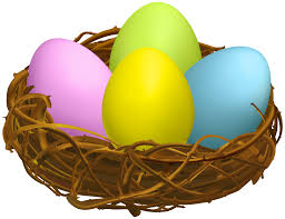 eggs in a nest clipart clipartxtras