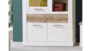 Wohnzimmerschrank Pinie Weiss 2 Duro Anbauwand In Pinie Weiß Und Eiche Antik