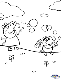 pegga pig u2013 coloring pages u2013 original coloring pages