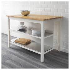 kitchen island rimforsa work bench stainless steel bamboo