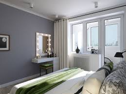 apartment minimalist decoration of small bedroom with single bed