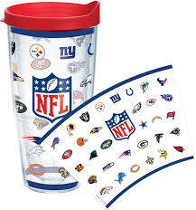 tervis nfl all team 24 oz logo wrap tumbler s sporting goods