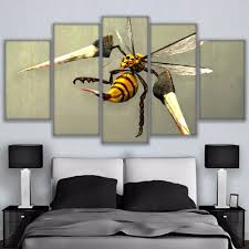 Bee Home Decor by Online Get Cheap Oil Painting Bees Aliexpress Com Alibaba Group
